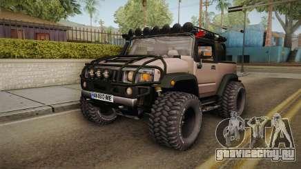 Hummer Wrangler H2 для GTA San Andreas