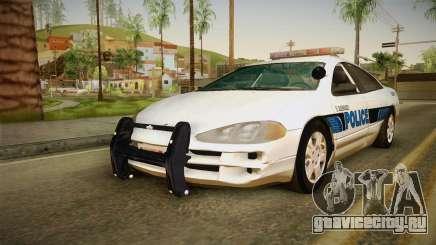 Dodge Intrepid 2001 El Quebrados Police для GTA San Andreas