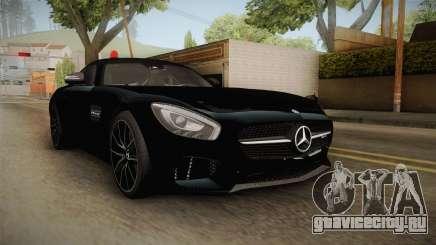 Mercedes-Benz AMG GT FBI 2016 для GTA San Andreas