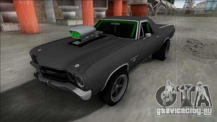 Chevrolet El Camino SS 1970 Drag для GTA San Andreas
