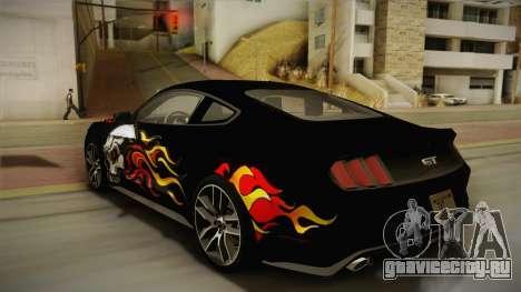 Ford Mustang GT 2015 5.0 для GTA San Andreas колёса