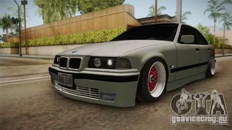 BMW 320i E36 Sedan для GTA San Andreas вид справа