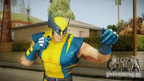 Marvel Heroes - Wolverine Modern UV No Claws для GTA San Andreas