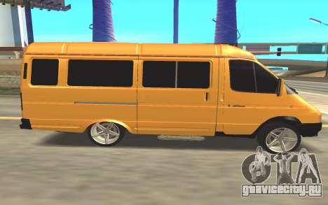 ГАЗ 322132 для GTA San Andreas вид слева