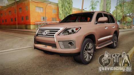 Lexus LX 570 Final Version для GTA San Andreas