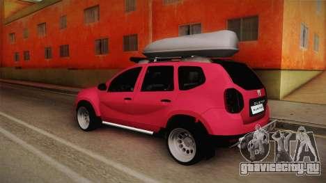 Dacia Duster Offroad для GTA San Andreas вид слева
