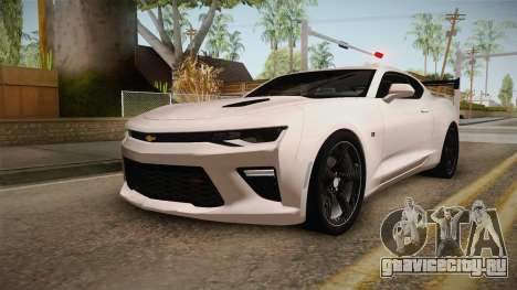 Chevrolet Camaro SS 2017 Tuning Carbon Race для GTA San Andreas