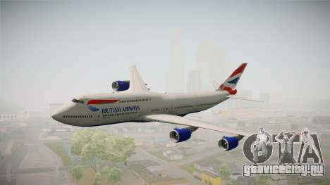 Boeing 747-8i British Airways для GTA San Andreas