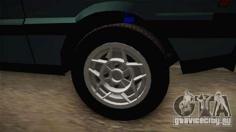 FSO Polonez Coupe 2.0X для GTA San Andreas вид сзади