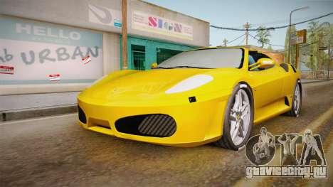 Ferrari F430 Spyder для GTA San Andreas