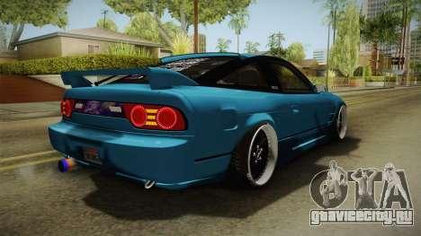 Nissan 180SX RPS13 Type-X для GTA San Andreas вид сзади слева