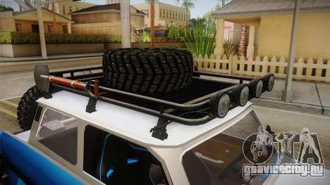 Trabant 601 4x4 Off Road для GTA San Andreas вид сбоку