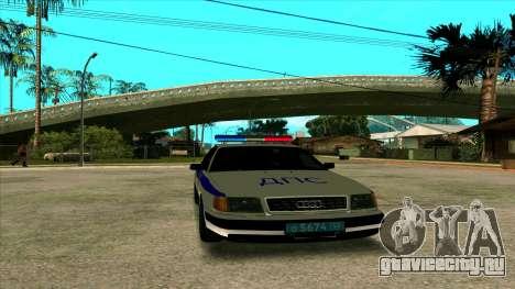 Audi 100 C4 Police для GTA San Andreas
