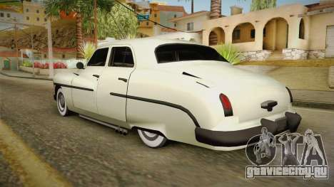 Mercury Monterey Sedan 1950 для GTA San Andreas вид слева