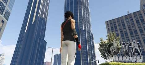 Faith Connors Mirrors Edge для GTA 5 третий скриншот