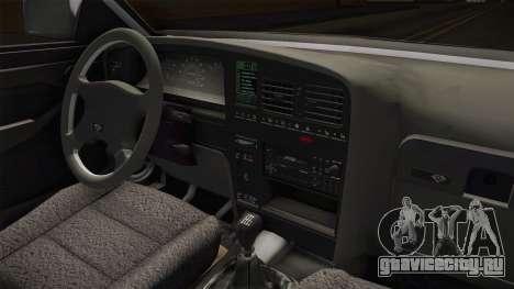 Opel Omega A Kombi для GTA San Andreas вид изнутри