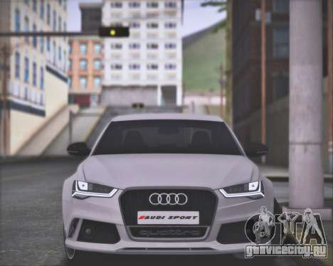 Audi RS6 2016 для GTA San Andreas вид справа
