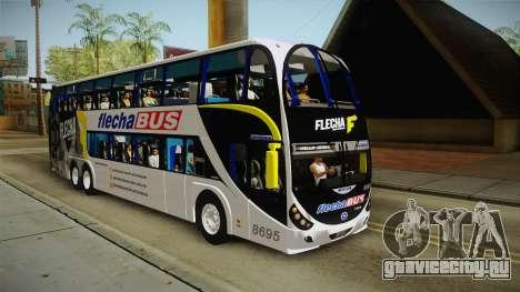 Starbus 2 Flecha Bus Egresados для GTA San Andreas вид справа
