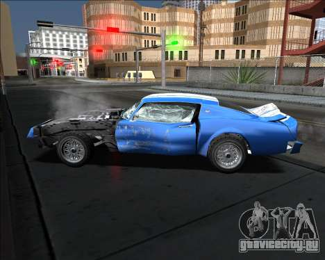 Insane car crashing mod для GTA San Andreas