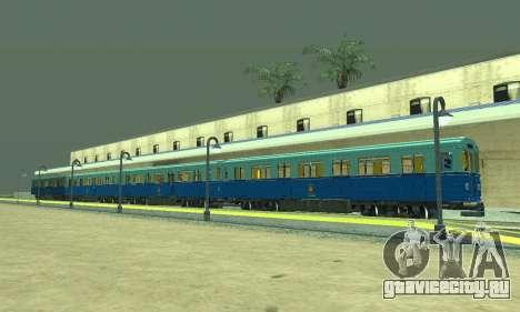 ST_M Метросостав типа Ем для GTA San Andreas салон