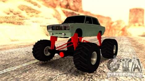 Vaz 2107 Monster для GTA San Andreas