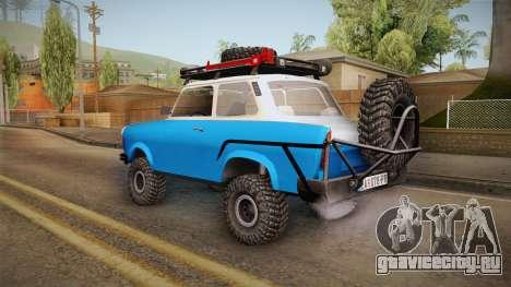 Trabant 601 4x4 Off Road для GTA San Andreas вид слева