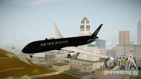 Boeing 787 Air New Zealand Black Edition для GTA San Andreas