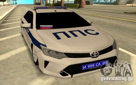 Toyota Camry Police для GTA San Andreas