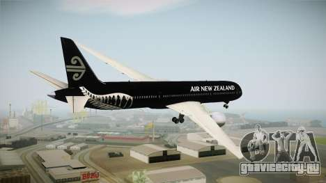 Boeing 787 Air New Zealand Black Edition для GTA San Andreas вид справа