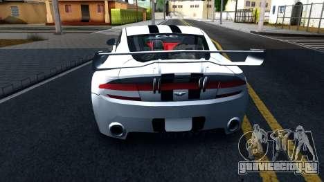 Aston Martin Vantage V8 для GTA San Andreas вид сзади слева