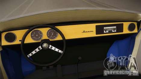 Renault Gordini для GTA San Andreas вид изнутри
