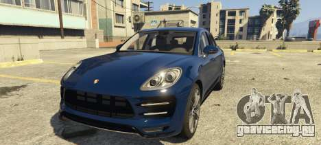 Porsche Macan Turbo 2016 для GTA 5
