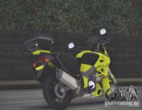 SUZUKI V-STROM 1000 для GTA San Andreas вид слева