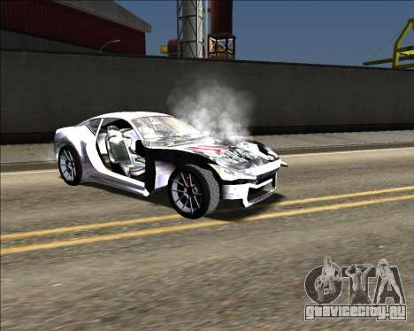 Insane car crashing mod для GTA San Andreas одинадцатый скриншот