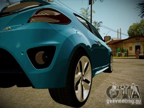 Hyundai i30 3-door hatchback 2013 для GTA San Andreas вид сзади