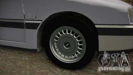 Opel Omega A Kombi для GTA San Andreas вид сзади