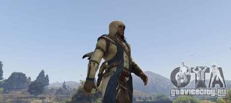 Connor Kenway Assassins Creed 3 для GTA 5 третий скриншот