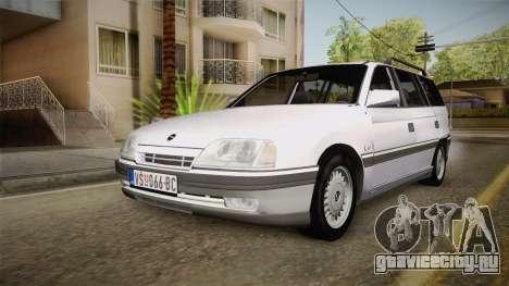 Opel Omega A Kombi для GTA San Andreas вид сзади слева