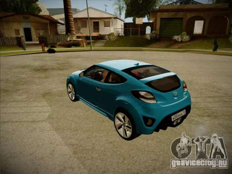 Hyundai i30 3-door hatchback 2013 для GTA San Andreas вид сзади слева