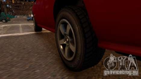 Bravado Bison для GTA 4 вид сзади