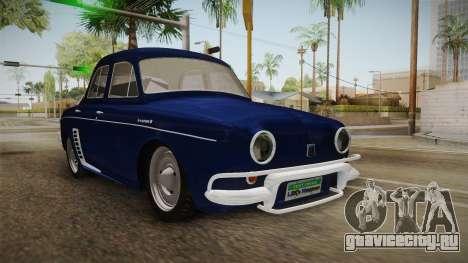 Renault Gordini для GTA San Andreas