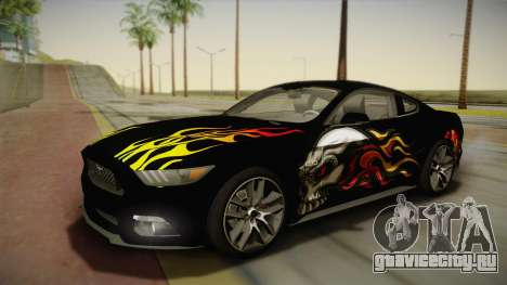 Ford Mustang GT 2015 5.0 для GTA San Andreas двигатель