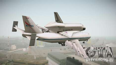 Boeing 747-100 Shuttle Carrier Aircraft для GTA San Andreas вид справа