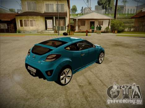 Hyundai i30 3-door hatchback 2013 для GTA San Andreas вид слева