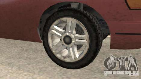 GTA 5 Vapid Stanier SA Style для GTA San Andreas вид сзади