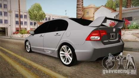 Honda Civic SI 2007 для GTA San Andreas вид слева