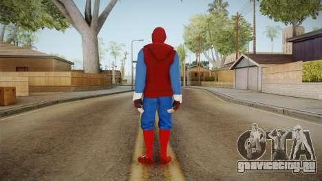 Spider-Man Homecoming - Home Costume (Fan Made) для GTA San Andreas третий скриншот