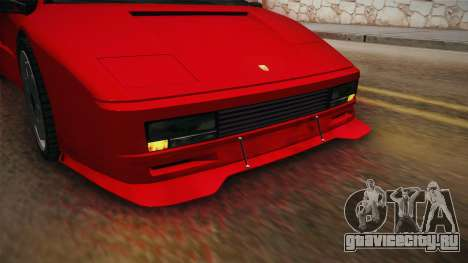GTA 5 Pegassi Infernus Classic SA Style для GTA San Andreas вид изнутри