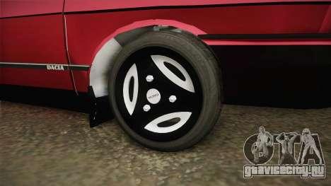 Dacia 1310 GPL для GTA San Andreas вид сзади