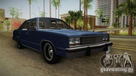 Ford Zephyr 1982 для GTA San Andreas